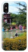 Chinese Garden With Gazebo IPhone Case
