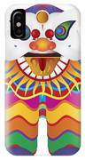 Chinese New Year Lion Dance Illustration IPhone Case