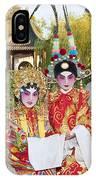 Chinese Opera Children - Traditional Chinese Opera Costumes. IPhone Case