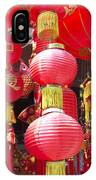 Chinese Red Lanterns IPhone Case