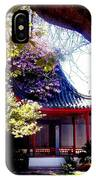 Chinese Sancuary IPhone Case