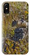Chipmunk In Yellowstone IPhone Case
