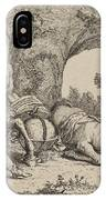 Chiron Teaching Music To Achilles IPhone Case