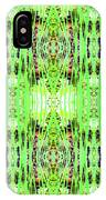 Chive Abstract Green IPhone Case