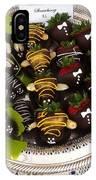 Chocolate Berries IPhone Case