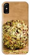 Chocolate Truffles Rolled In Thyme IPhone Case