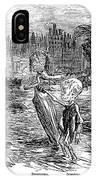 Cholera Cartoon, 1858 IPhone Case