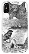 Cholera Cartoon, 1883 IPhone Case