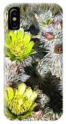 Cholla Flowers IPhone Case