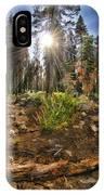 Chop Up Log IPhone Case