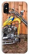Chopper Custom Built Harley IPhone Case