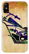Chopper Motorcycle Painting IPhone Case