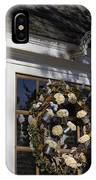 Chownings Tavern Wreath IPhone Case