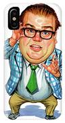 Chris Farley As Matt Foley IPhone Case