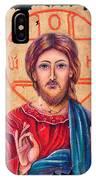 Christ Icon Fresco IPhone Case