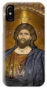 Christ Pantocrator Mosaic IPhone Case