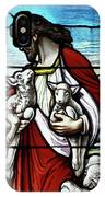 Christ The Good Shepherd With His Flock IPhone X Case