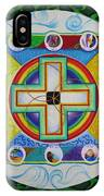 Christian Sand Mandala IPhone Case
