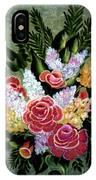 Christina's Bouquet IPhone Case