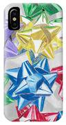 Christmas Bows IPhone Case