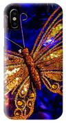 Christmas Butterfly IPhone Case