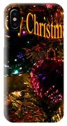 Christmas Card 3 IPhone Case