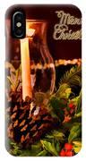 Christmas Card Digital Paint IPhone Case