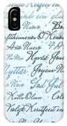 Christmas Card Multi Language  IPhone Case