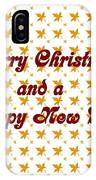 Christmas Cards And Artwork Christmas Wishes 1 IPhone Case