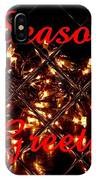 Christmas Cards And Artwork Christmas Wishes 28 IPhone Case
