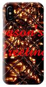 Christmas Cards And Artwork Christmas Wishes 30 IPhone Case