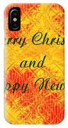 Christmas Cards And Artwork Christmas Wishes 37 IPhone Case