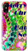 Christmas Cards And Artwork Christmas Wishes 38 IPhone Case
