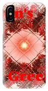Christmas Cards And Artwork Christmas Wishes 67 IPhone Case