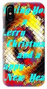 Christmas Cards And Artwork Christmas Wishes 71 IPhone Case