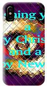 Christmas Cards And Artwork Christmas Wishes 72 IPhone Case