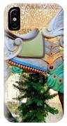 Christmas Carousel Warrior Horse-1 IPhone Case