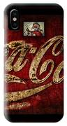 Christmas Coca Cola 1881 Santa IPhone Case