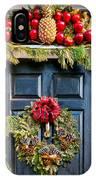 Christmas Door 8 IPhone Case