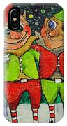 Christmas Elves IPhone Case