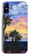 Christmas Eve In Redondo Beach IPhone Case