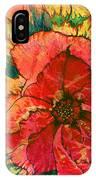 Christmas Flower IPhone Case