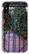 Christmas Gate IPhone Case