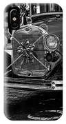 Christmas Grillwork - Bw IPhone Case