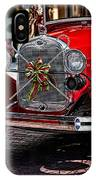 Christmas Grillwork IPhone Case