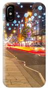 Christmas In London IPhone X Case