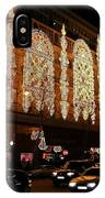 Christmas In Paris - Gallery Lights IPhone Case