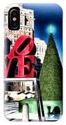 Christmas In Philadelphia IPhone Case