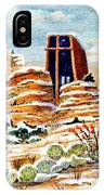 Christmas In Sedona IPhone Case