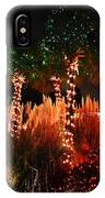 Christmas In The Sand IPhone Case